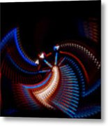 Fan Dance Metal Print