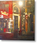 Fan Tan Alley Metal Print