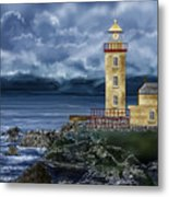 Fanad Head Lighthouse Ireland Metal Print