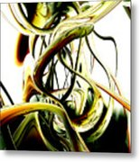 Fanciful Abstract Metal Print