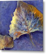 Fanciful Leaves Metal Print
