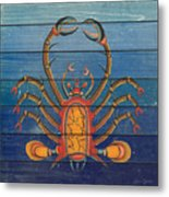 Fanciful Sea Creatures-jp3824 Metal Print