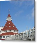 Fancy Hotel In Southern California Metal Print