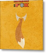 Fantastic Mr. Fox Metal Print
