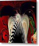 Fantasy Abstract Metal Print