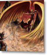 Fantasy Battle Metal Print