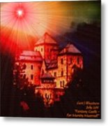 Fantasy Castle For Mandy Maxwell H A Metal Print