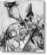 Fantasy Drawing 1 Metal Print