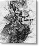 Fantasy Drawing 2 Metal Print