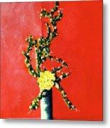 Fantasy Flowers Still Life #162 Metal Print