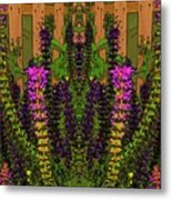 Fantasy Garden Two Metal Print