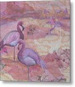 Fantasy In Pink Metal Print
