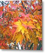 Fantasy Of Fall Metal Print