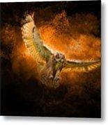 Fantasy Owl Metal Print