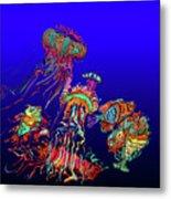 Fantasy Sea Life1 Metal Print