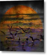 Fantasy Wings Metal Print