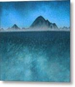 Farallon Islands II or The Misty Isle Metal Print