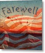 Farewell Metal Print
