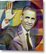 Farewell Obama Metal Print