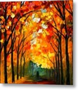 Farewell To Autumn Metal Print