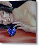 Farfalla - Butterfly Metal Print