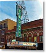 Fargo Theater Metal Print