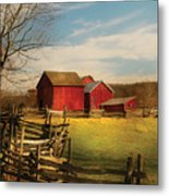Farm - Barn - I Bought The Farm Metal Print