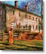 Farm - Farmer - There Was An Old Lady Metal Print