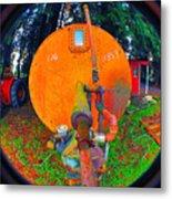 Farm And Logging Machinery Metal Print