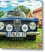 Farm Car - Alpha Gt Metal Print