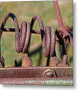 Farm Equipment 7 Metal Print