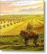 Farm - Finland - Field Of Hope 1899 Metal Print