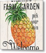 Farm Garden 1 Metal Print