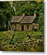 Farm House Metal Print