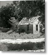 Farm House On The Eastern Plains Metal Print