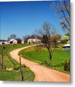 Farm In Gasconade County Mo_dsc4116 Metal Print