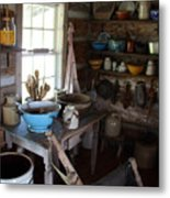 Farm Kitchen Metal Print