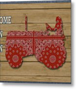 Farm Life-jp3230 Metal Print