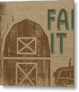 Farm Life-jp3235 Metal Print