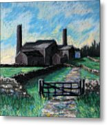 Farm Near Hexham. Metal Print