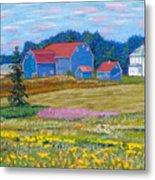 Farm On Prince Edward Island Metal Print