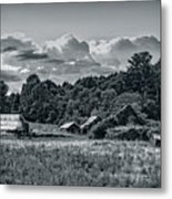 Farm On The Blue Ridge Metal Print