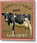 Farm To Table-jp2389 Metal Print
