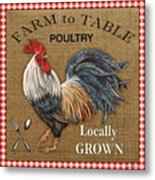 Farm To Table-jp2390 Metal Print