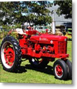 Farmall At The Country Fair Metal Print by Andrew Pacheco