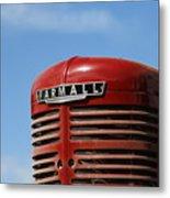 Farmall Tractor Metal Print