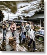 Farmer's Market 3 Metal Print