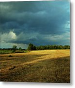 Farmers Race Against The Weather Frankenmuth Michigan Metal Print