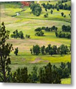 Farmers Valley Metal Print