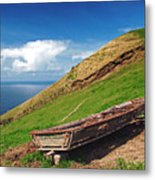 Farming In Azores Islands Metal Print